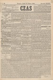 Czas. R.39, Ner 68 (24 marca 1886)