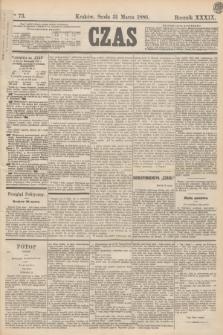 Czas. R.39, Ner 73 (31 marca 1886)