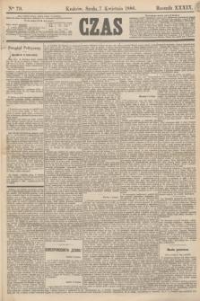 Czas. R.39, Ner 79 (7 kwietnia 1886)