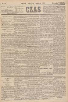 Czas. R.39, Ner 96 (28 kwietnia 1886)