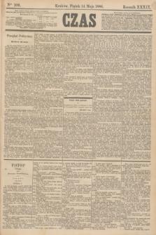 Czas. R.39, Ner 109 (14 maja 1886)