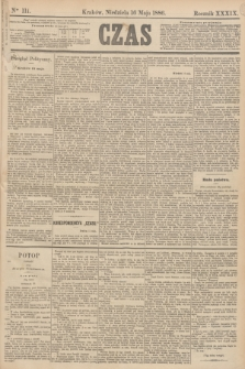 Czas. R.39, Ner 111 (16 maja 1886)