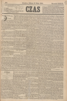 Czas. R.39, Ner 116 (22 maja 1886)