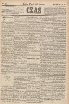 Czas. R.39, Ner 118 (25 maja 1886)