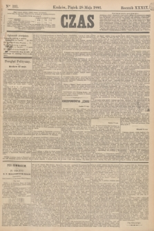 Czas. R.39, Ner 121 (28 maja 1886)