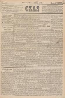 Czas. R.39, Ner 124 (1 maja 1886)