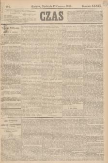 Czas. R.39, Ner 134 (13 czerwca 1886)