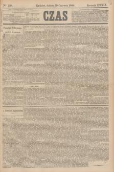 Czas. R.39, Ner 138 (19 czerwca 1886)