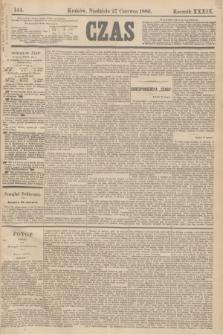 Czas. R.39, Ner 144 (27 czerwca 1886)