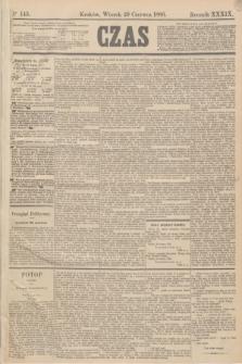 Czas. R.39, Ner 145 (29 czerwca 1886)