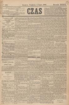 Czas. R.39, Ner 149 (4 lipca 1886)