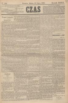 Czas. R.39, Ner 154 (10 lipca 1886)