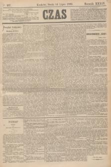 Czas. R.39, Ner 157 (14 lipca 1886)