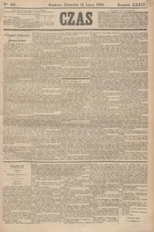 Czas. R.39, Ner 158 (15 lipca 1886)