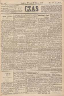 Czas. R.39, Ner 162 (20 lipca 1886)