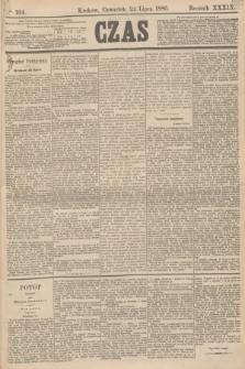 Czas. R.39, Ner 164 (22 lipca 1886)
