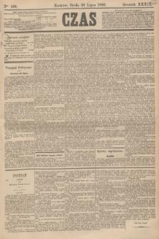 Czas. R.39, Ner 169 (28 lipca 1886)