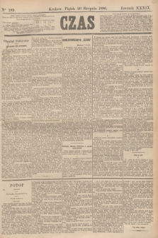 Czas. R.39, Ner 189 (20 sierpnia 1886)