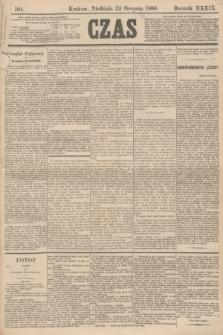 Czas. R.39, Ner 191 (22 sierpnia 1886)
