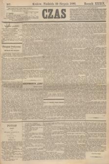 Czas. R.39, Ner 197 (29 sierpnia 1886)