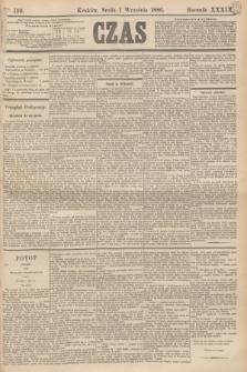 Czas. R.39, Ner 199 (1 września 1886)