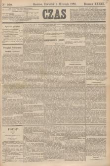 Czas. R.39, Ner 200 (2 września 1886)
