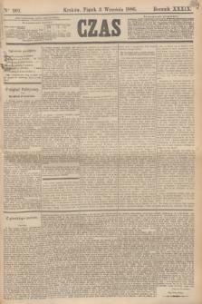 Czas. R.39, Ner 201 (3 września 1886)