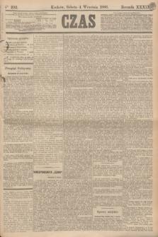 Czas. R.39, Ner 202 (4 września 1886)