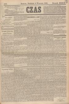 Czas. R.39, Ner 203 (5 września 1886)