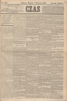 Czas. R.39, Ner 204 (7 września 1886)