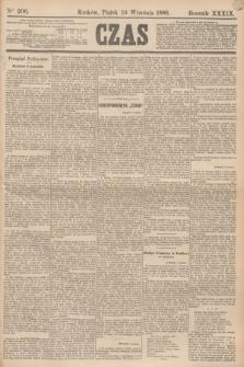 Czas. R.39, Ner 206 (10 września 1886)