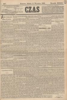 Czas. R.39, Ner 207 (11 września 1886)