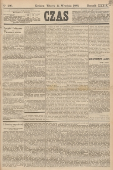 Czas. R.39, Ner 209 (14 września 1886)