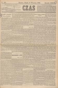 Czas. R.39, Ner 212 (17 września 1886)