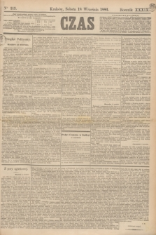 Czas. R.39, Ner 213 (18 września 1886)