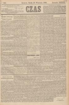 Czas. R.39, Ner 216 (22 września 1886)