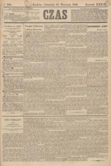 Czas. R.39, Ner 223 (30 września 1886)