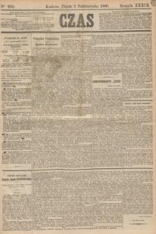 Czas. R.39, Ner 224 (1 października 1886)