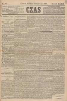 Czas. R.39, Ner 225 (2 października 1886)