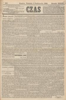 Czas. R.39, Ner 226 (3 października 1886)
