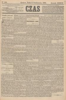 Czas. R.39, Ner 228 (6 października 1886)