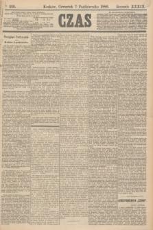 Czas. R.39, Ner 229 (7 października 1886)