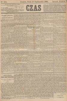 Czas. R.39, Ner 234 (13 października 1886)