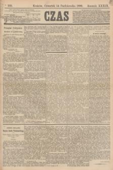 Czas. R.39, Ner 235 (14 października 1886)