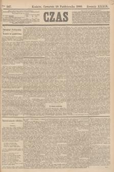 Czas. R.39, Ner 247 (28 października 1886)