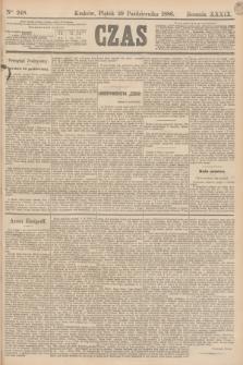 Czas. R.39, Ner 248 (29 października 1886)
