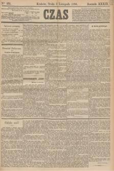 Czas. R.39, Ner 251 (3 listopada 1886)