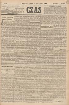 Czas. R.39, Ner 253 (5 listopada 1886)