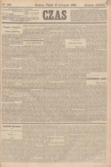 Czas. R.39, Ner 259 (12 listopada 1886)