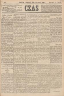 Czas. R.39, Ner 261 (14 listopada 1886)
